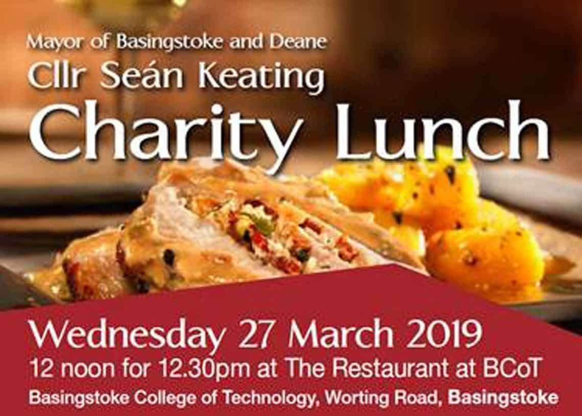 mayor's charity lunch basingstoke