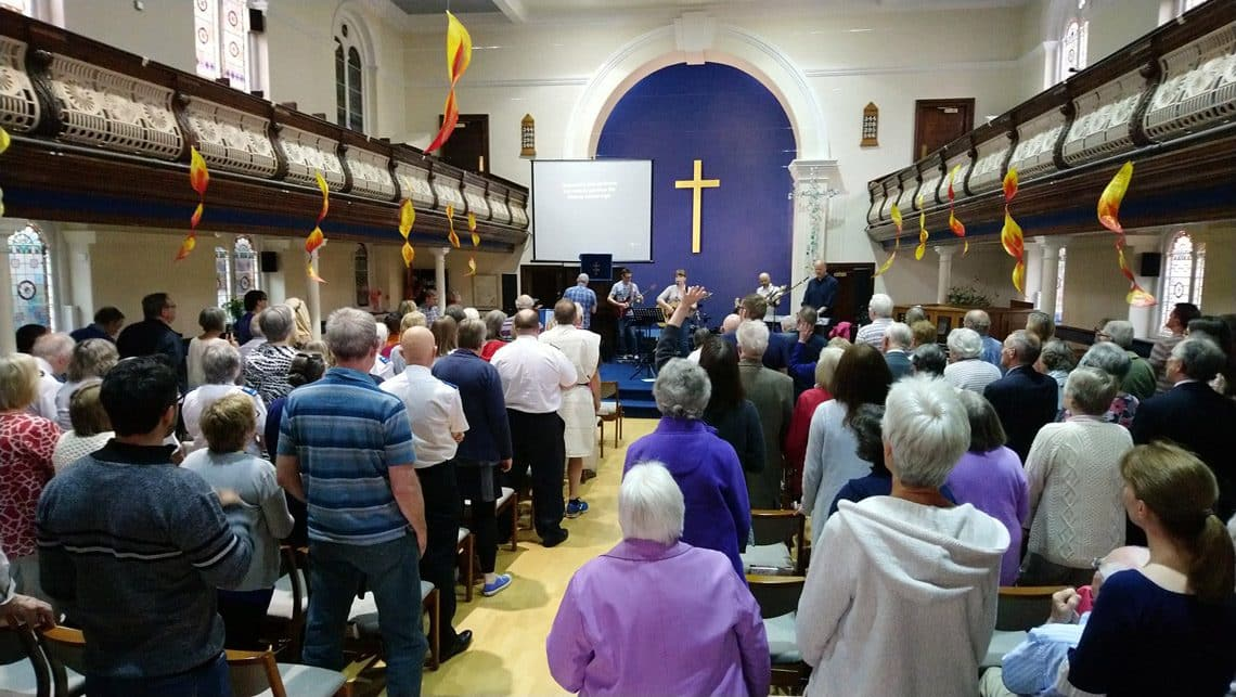 OneChurch basingstoke pentecost prayer