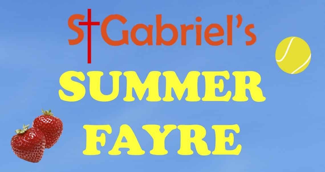 St. Gabriel's Church Basingstoke Summer Fayre 2019