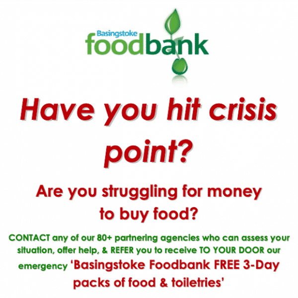 Help from Foodbank when in Crisis